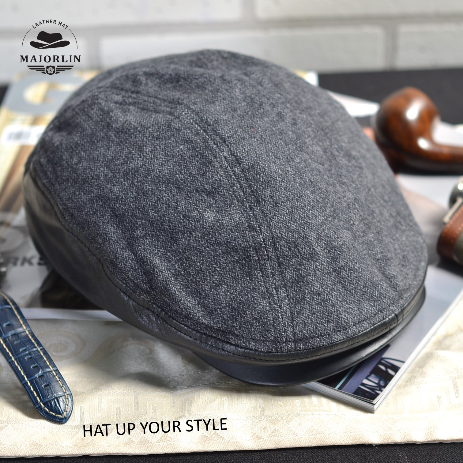MAJORLIN newsboy cap